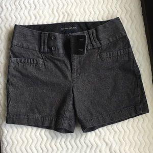 Banana Republic Black Jean Shorts size 4